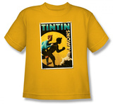 Toddler: The Adventures of TinTin - Tintin & Snowy Flyer T-shirts