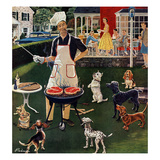 &quot;Hot Dogs&quot;, September 13, 1958 Giclee Print by Ben Kimberly Prins