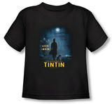 Toddler: The Adventures of TinTin - Tintin Poster Shirts
