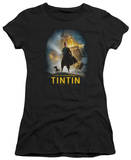 Juniors: The Adventures of TinTin - Poster T-Shirt