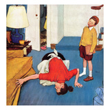 """Missing Shoe"", September 8, 1951 Giclee Print by Jack Welch"