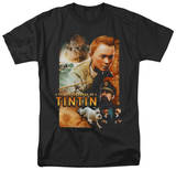 The Adventures of TinTin - Adventure Poster T-Shirt