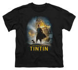 Youth: The Adventures of TinTin - Poster T-shirts
