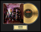 "Cinderella - ""Night Songs"" Gold LP Framed Memorabilia"