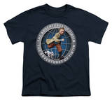 Youth: The Adventures of TinTin - Tintin Globe T-Shirt