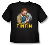 Toddler: The Adventures of TinTin - Looking for Answers Shirts
