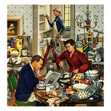 """Home Improvement"", December 5, 1953 Giclee Print by Stevan Dohanos"