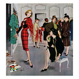 """Perfect Fit"", January 10, 1959 Reproduction procédé giclée par George Hughes"