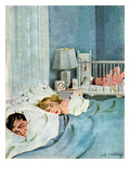 """Who's Turn"", January 21, 1950 Giclee Print by M. Coburn Whitmore"