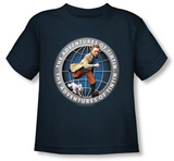 Toddler: The Adventures of TinTin - Tintin Globe T-shirts