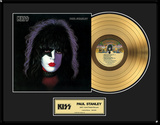 "KISS - ""Paul Stanley"" Solo LP Framed Memorabilia"