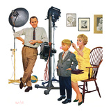 """At the Photographer"", September 26, 1959 Giclee Print by Kurt Ard"