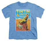 Youth: The Adventures of TinTin - Tintin &amp; Snowy T-shirts