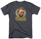 The Adventures of TinTin - Tintin Metal T-Shirt