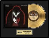 """KISS - """"Gene Simmons"""" Solo LP Framed Memorabilia"""