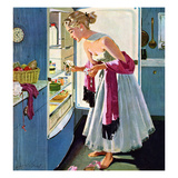"""Prom Momento"", October 29, 1955 Giclee Print by M. Coburn Whitmore"