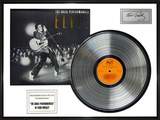 "Elvis Presley - ""Great Performances"" Platinum Edition LP Framed Memorabilia"