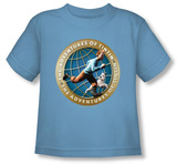 Toddler: The Adventures of TinTin - Around the Globe T-shirts