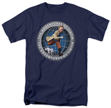 The Adventures of TinTin - Tintin Globe T-Shirt
