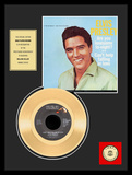 "Elvis Presley - ""Are You Lonesome Tonight"" Gold Record Framed Memorabilia"