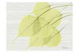 Botree Green on Horizontal Posters by Albert Koetsier