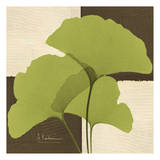 Ginkgo Green Trio Posters by Albert Koetsier