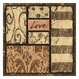 Neutral Love Prints by Carol Kemery