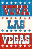 Viva Las Vegas Print by Tom Frazier