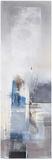 Blue Building Poster von Elisa Godefroid