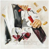 Vin Sommelier Prints by  Lizie