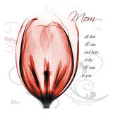Happy Tulip in Red, Mom Posters by Albert Koetsier