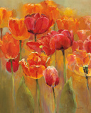 Tulips in the Midst I Poster von Marilyn Hageman