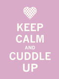 Keep Calm Cuddle Láminas