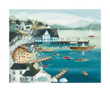 Sunny Ambleside Posters par Anne Blundell