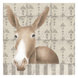 Mule Posing Close-Up Affiches par Carol Kemery