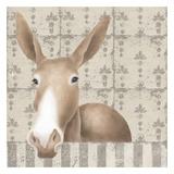 Mule Posing Close-Up Reprodukcje autor Carol Kemery