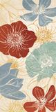 Vintage Flowers II Posters by N. Harbick