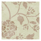 Soft Beige Blooms II Posters by Carol Kemery