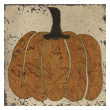 Harvest Pumpkins IV Art by Carol Kemery