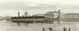 Strelka, Tip of Wassili Island, St. Petersburg Poster by  Ryazanov