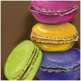 4 Macarons Prints by Béatrice Hallier