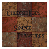 Cherish Squares Prints by Carol Kemery
