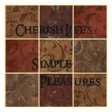 Cherish Squares Poster by Carol Kemery