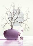 Purple Inspiration II Art by David Sedalia