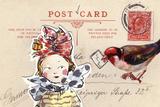 Carte Postal I Print by Claire Fletcher