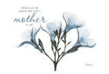 Blue Oleander, Mother Prints by Albert Koetsier