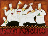 Buon Appetito Poster par Jennifer Garant
