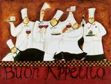 Bom apetite, em italiano Pôsteres por Jennifer Garant