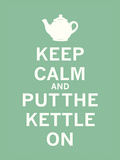 Keep Calm, Mint Tea Poster von  The Vintage Collection