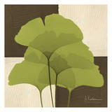 Ginkgo Green Quad Prints by Albert Koetsier